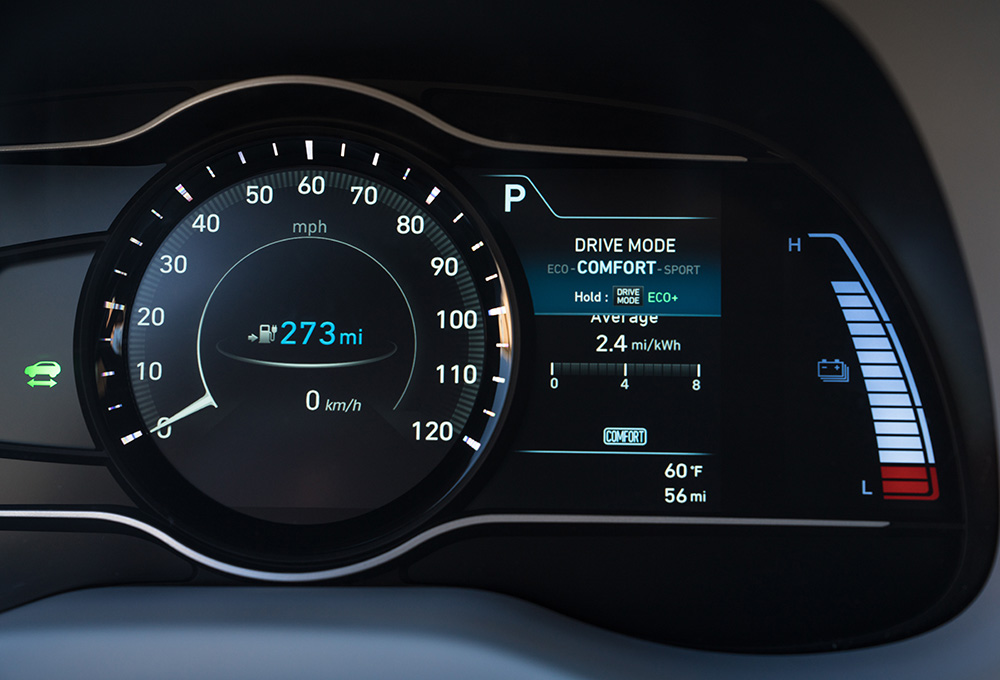 2019 Hyundai Kona Electric goes content and torque heavy in a B-class EV