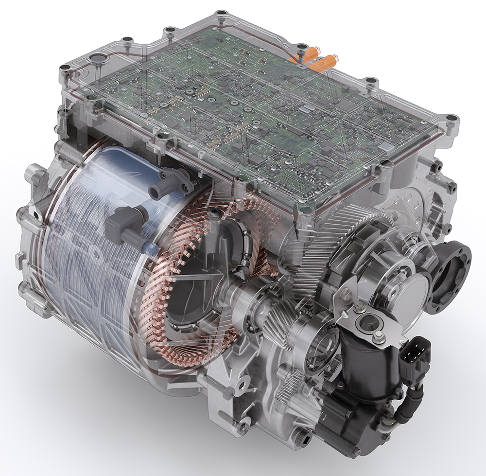 BorgWarner Integrated Drive Module in Testing Phase