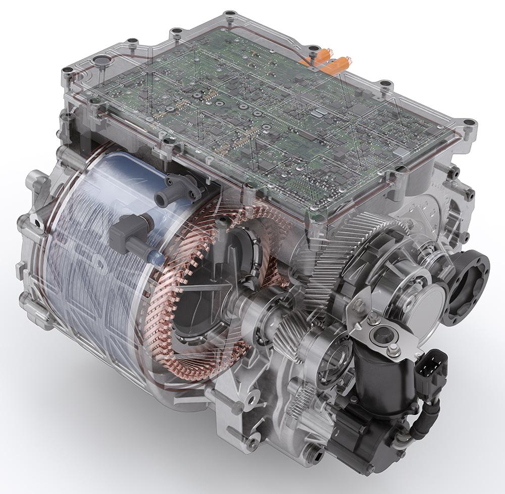 BorgWarner Integrated Drive Module in Testing Phase