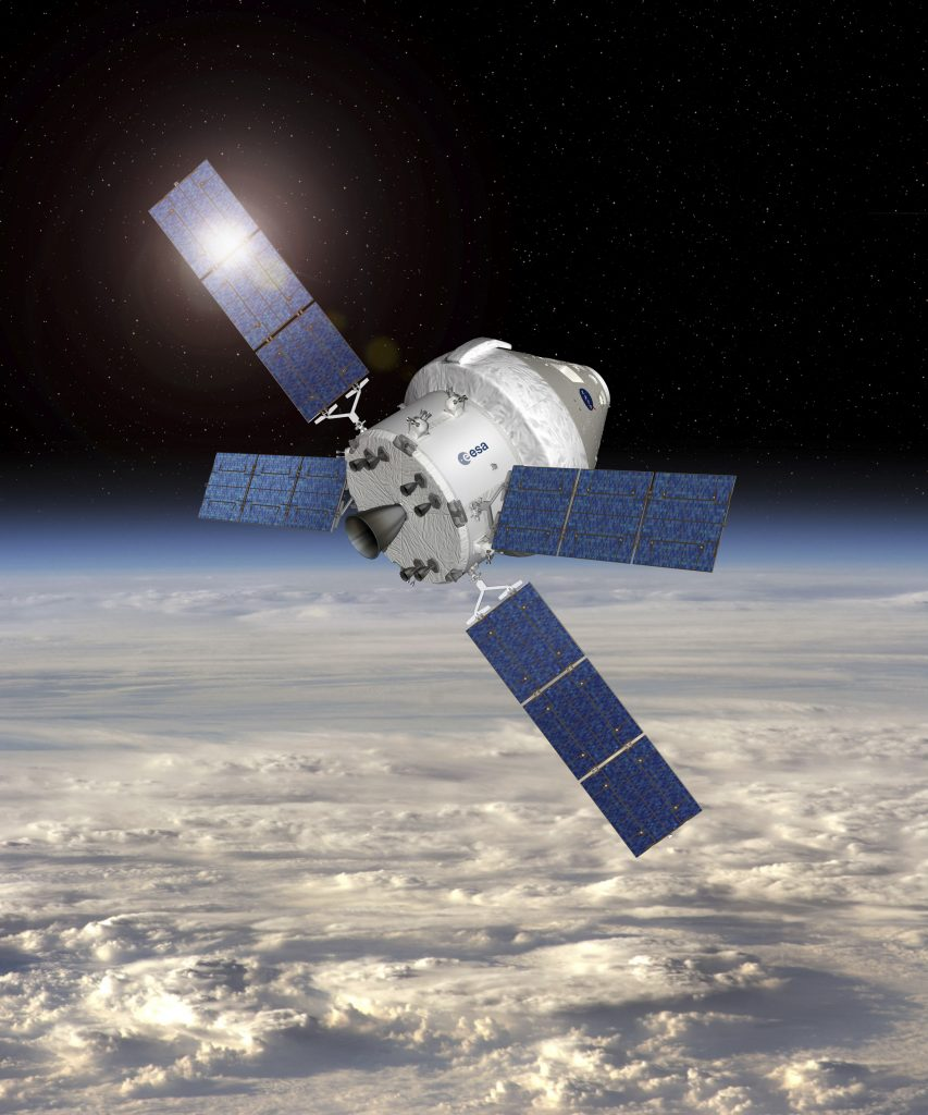 First Orion European Space Module Delivered 2