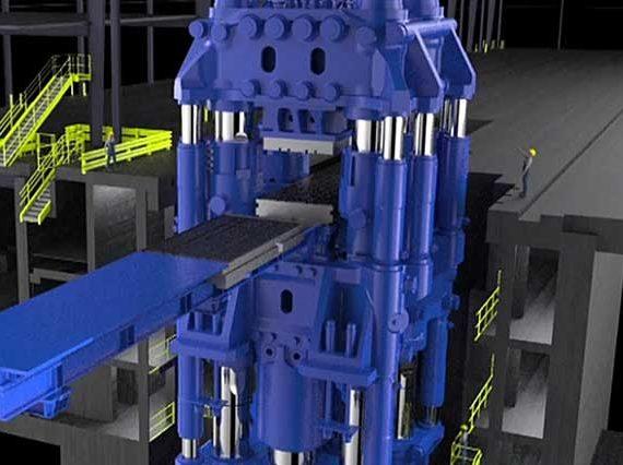 Weber Metals unveils new 540-meganewton press for aerospace components