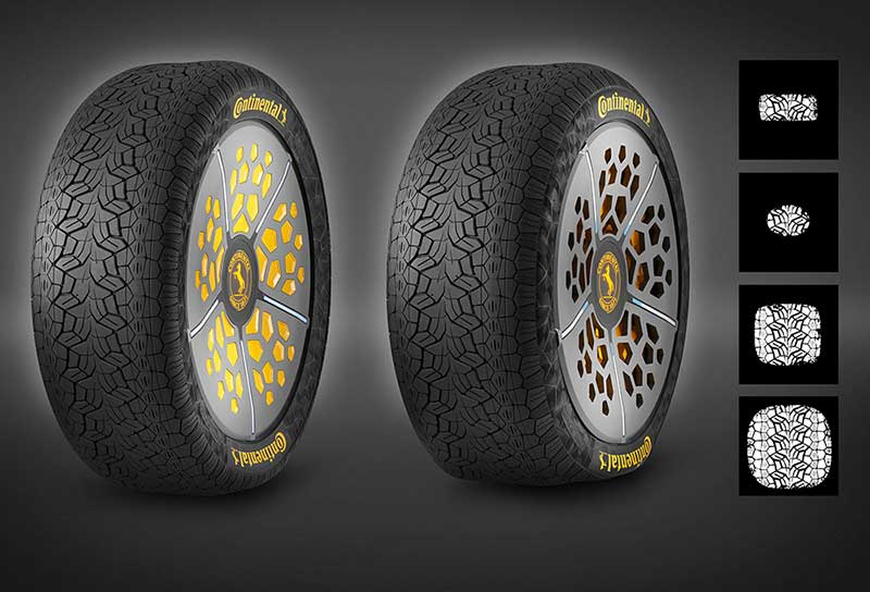 Continental Tires will Become More Diverse and Intelligent