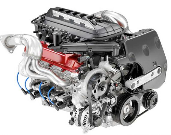 GM's New LT2 5th Generation Small Block V8 Engine