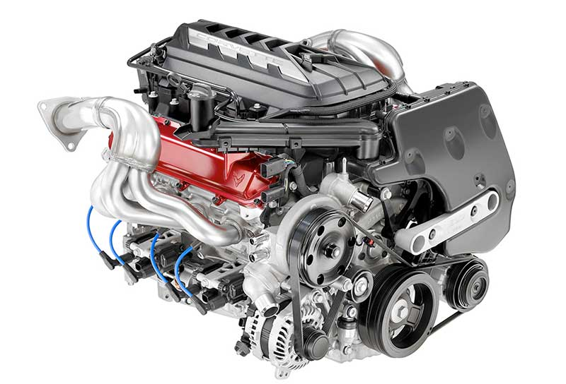 GM's New LT2 5th Generation Small Block V8 Engine