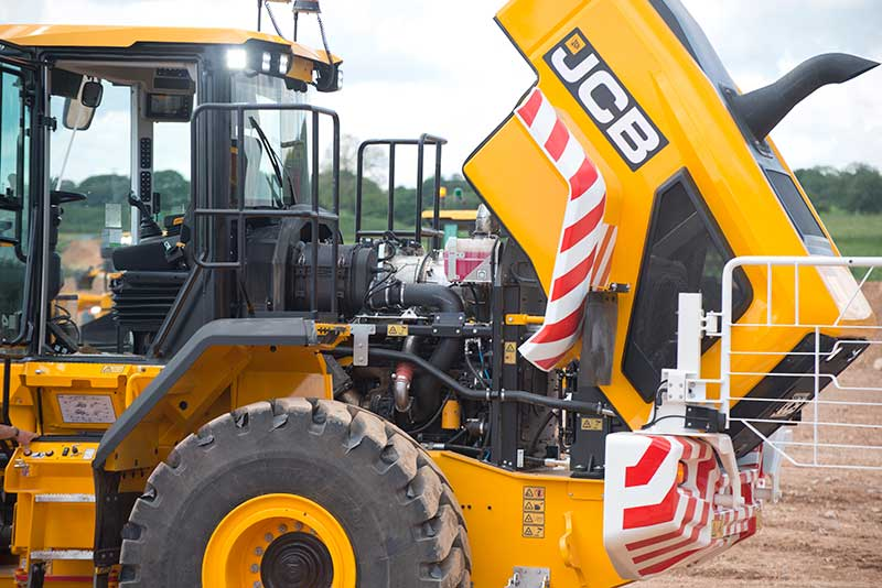 JCB Starts to Offer Stage V Compliant Engines