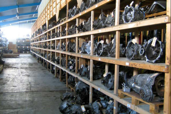 second-hand spare parts
